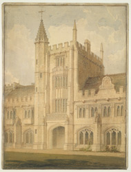 Magdalen College, Oxford, 1816 f12
